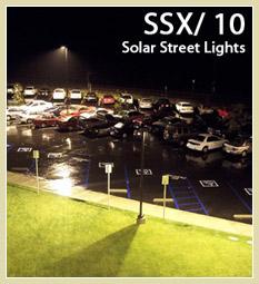SSX 10 Solar Street Lights